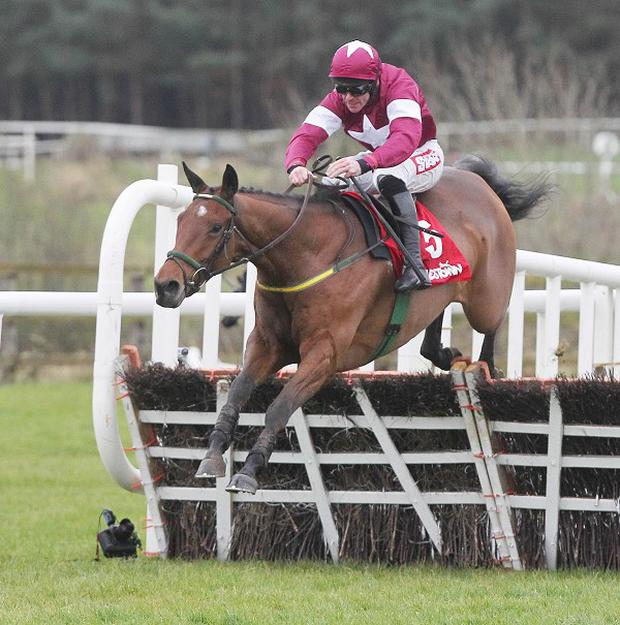 Road To Riches has it won at the last