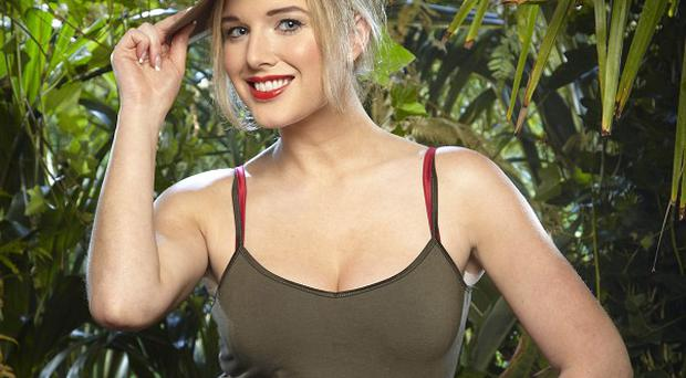 Helen Flanagan's family and friends have rallied round after she failed her fifth Bushtucker trial on I'm A Celebrity... (ITV/PA)