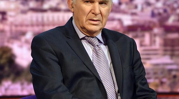 Business Secretary Vince Cable told the BBC1's The Andrew Marr Show that the UK needs to 'beef up' action against tax avoidance (BBC/PA)