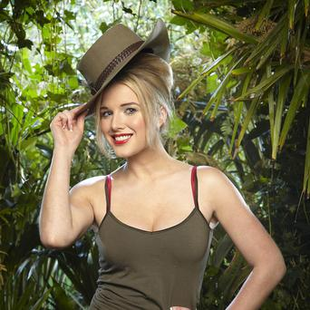 Helen Flanagan has finally completed a bushtucker trial in the jungle