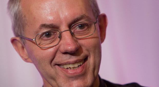 The new Archbishop of Canterbury, the Rt Rev Justin Welby, has urged the Synod to back introducing women bishops