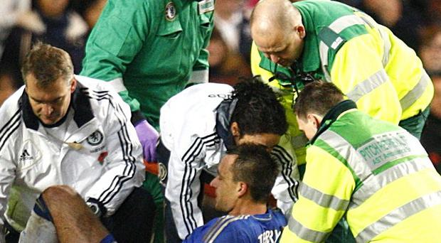 John Terry's injury has rocked Chelsea's defence