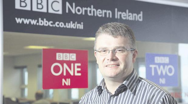 Bad news: BBC Northern Ireland's Peter Johnston has been implicated in the Newsnight fiasco leaving Lord Patten a tough job