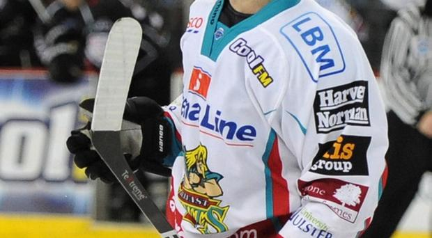Craig Peacock scored for the Belfast Giants in Cardiff