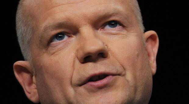 Foreign Secretary William Hague said the 'rapidly deteriorating security' situation in the DRC meant it was too dangerous to stay in Goma