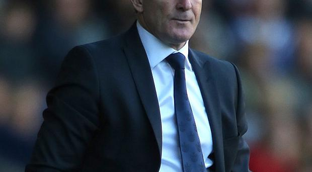 Mark Hughes, pictured, met with Philip Beard on Monday