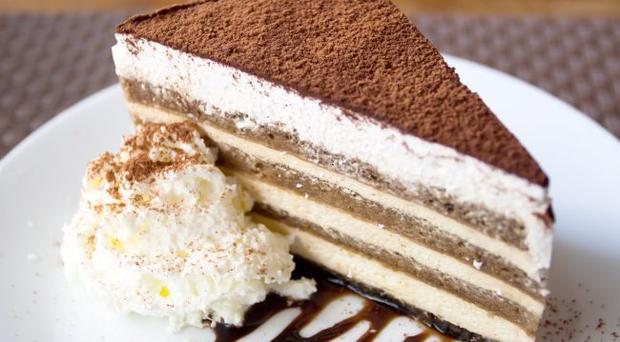 A creamy Tiramisu was the perfect ending