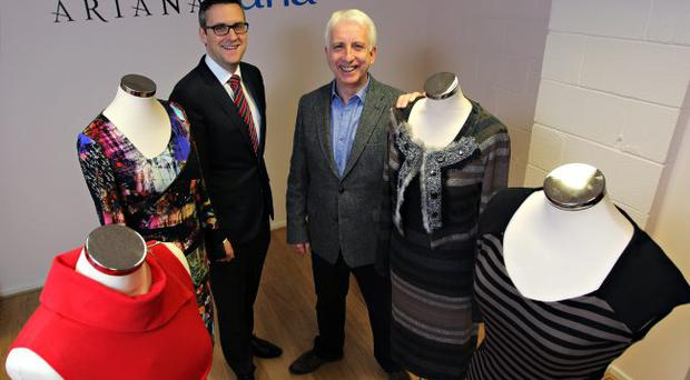 David McCurley, Senior Investment Manager, WhiteRock Capital Partners with Seamus Mullan, Managing Director, Aria Clothing Limited