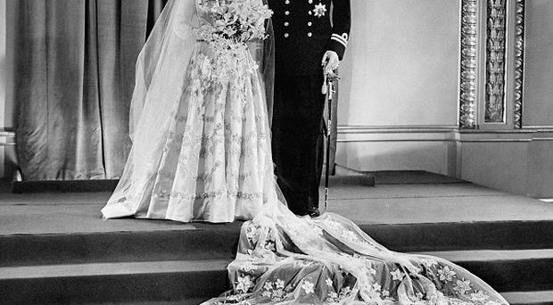 The Queen and the Duke of Edinburgh married on November 20 1947 at Westminster Abbey