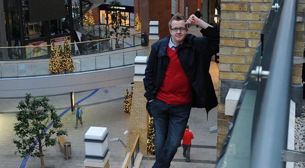 David Meade in Victoria Square