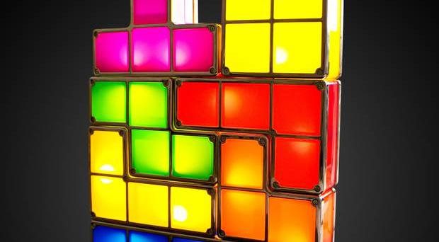 Tetris light firebox.com, £29.99 The fearsomely addictive game has become 3D as it's been turned into a light. As you attach the pieces they light up. Great for a desk and a spot of homework avoidance.