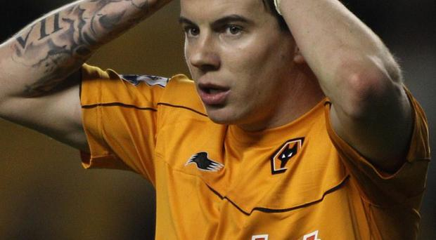 Footballer Adam Hammill pleaded guilty to two counts of assault at an earlier hearing