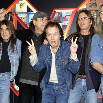 Rock group AC/DC have released their back catalogue for downloading