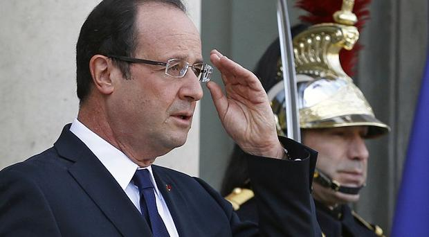 French president Francois Hollande has promised to remove all French combat troops from Afghanistan this year (AP)