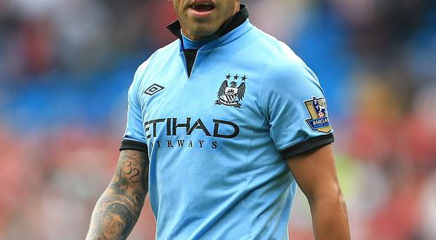 Carlos Tevez is concentrating on enjoying his football at Manchester City