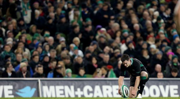 Johnny Sexton must go for the points if the opportunity arises on Saturday against Argentina