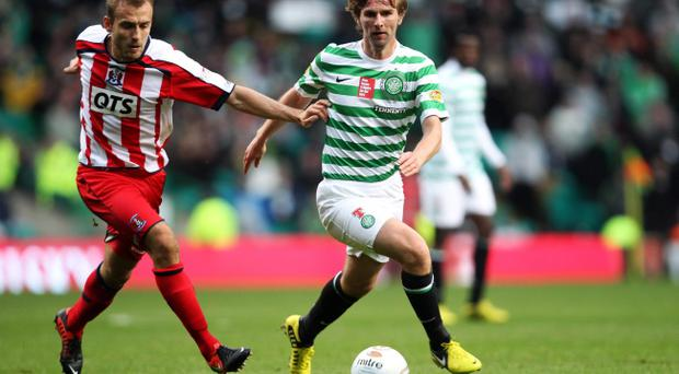 Despite his wonderful skills Paddy McCourt has failed to secure a starting place at Celtic