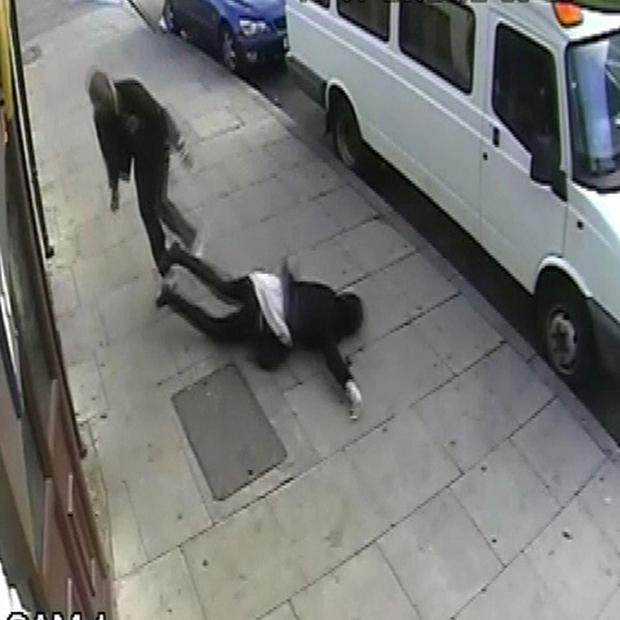 A man assaulted a 16 year girl outside the Black Lion public house in High Street, Plaistow, London