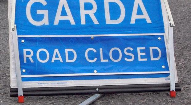 A woman has died after a car accident, garda said