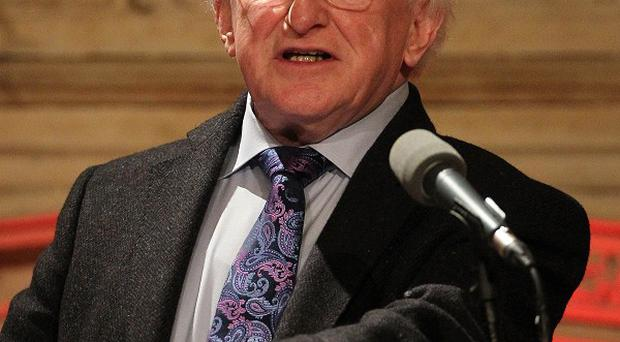 President Michael D Higgins rejected suggestions that Ireland's reputation around the world has been damaged by the controversy