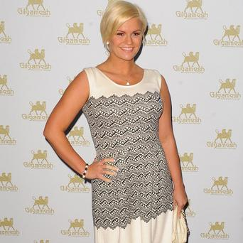 Kerry Katona has been spotted with her Atomic Kitten bandmates