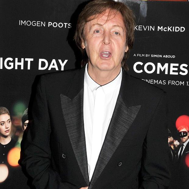 Sir Paul McCartney has joined other celebs on the Hillsborough single