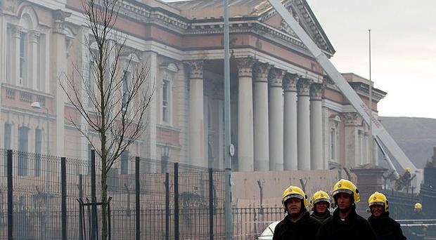 The Crumlin Road Courthouse, designed by architect Charles Lanyon, was badly damaged by fire in 2009