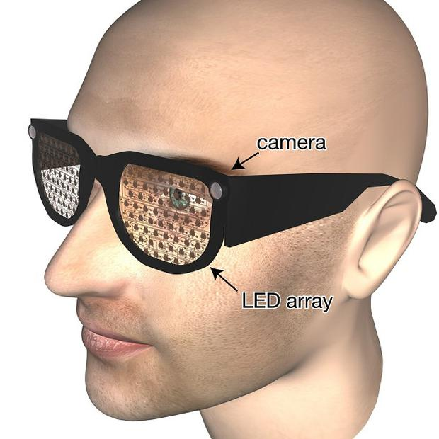 'Smart specs' for the blind could take the place of white canes and guide dogs, say researchers (Oxford University/PA)