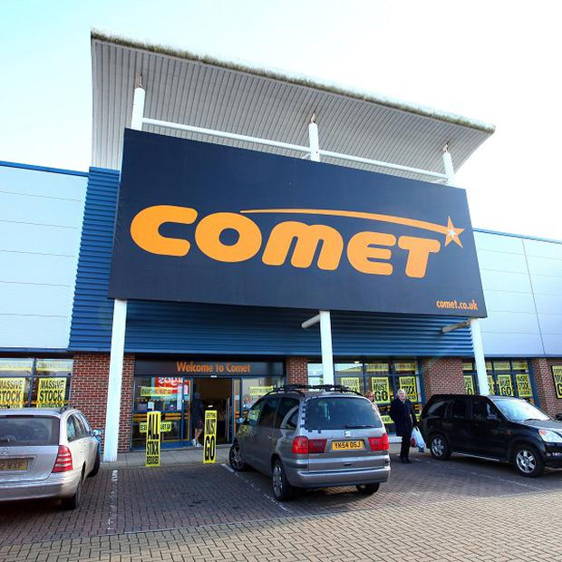 Comet could become online-only if the entrepreneur behind Appliances Online buys its website