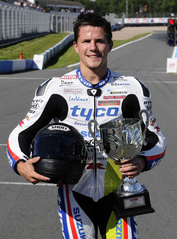 On course: PJ Jacobsen has signed for Tyco Suzuki
