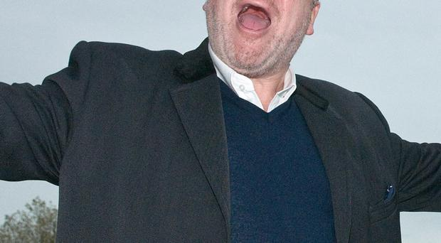 Ray Winstone jetted into Londonderry for the Irish premiere of his new movie this week