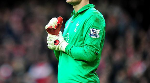 Hugo Lloris is willing to bide his time in his quest to become first-choice goalkeeper