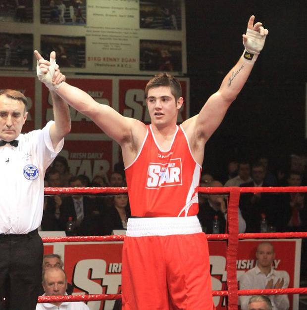 Joe Ward is looking forward to his future in boxing