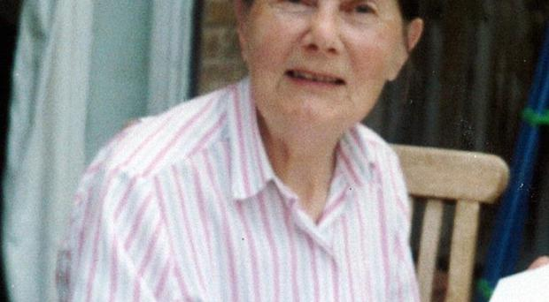 Paula Castle, 85, fell to the ground after she was robbed in west London on Monday and later died in hospital