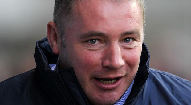 Rangers manager Ally McCoist expressed his disappointment that this weekend's game had been called off