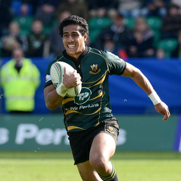 Ken Pisi crossed for a try in Northampton's win over London Welsh