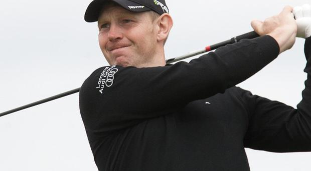 Stephen Gallacher got to the turn in 30 on Sunday