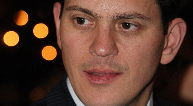 David Miliband says there is no tension with his brother, Labour leader Ed