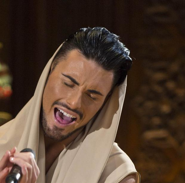 Rylan Clark has left The X Factor