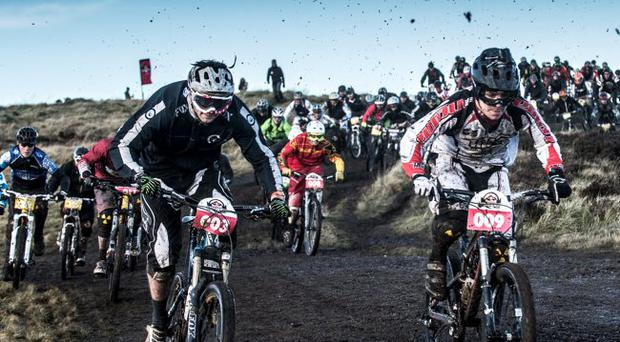 Hill thrills: competitors in the Red Bull FoxHunt covered themselves in glory
