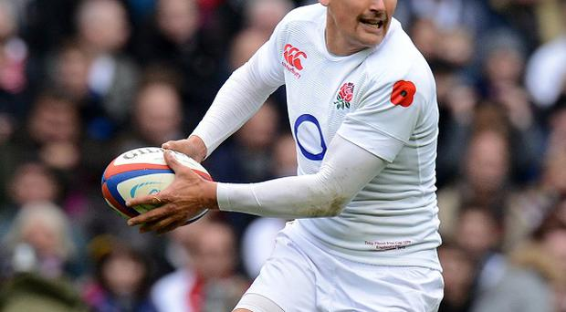 Toby Flood suffered ligament damage during England's 16-15 defeat to South Africa