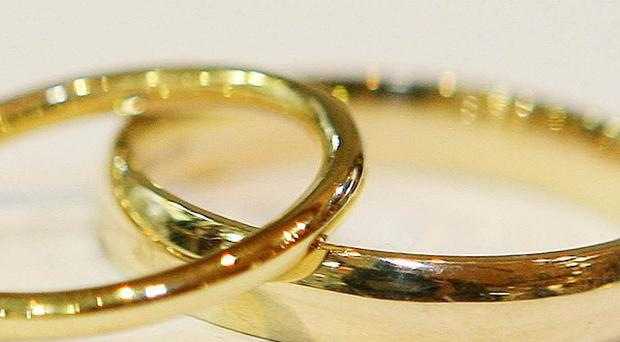 The number of inter-faith marriages in Britain is growing, figures show
