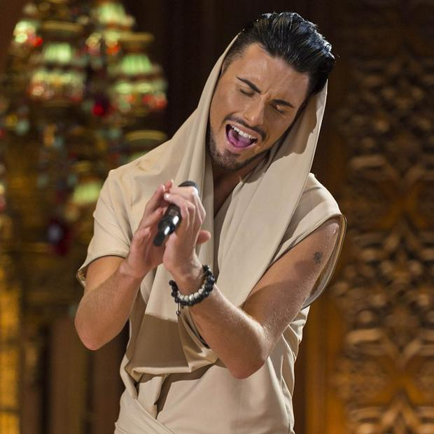 Rylan Clark said he was ready to leave the competition