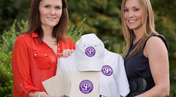 Andrea Martin and Tori Higginson from Stamp Promotions are aiming to increase the company's turnover