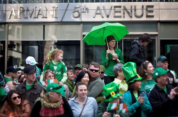 A dry St Patrick's Day in New York