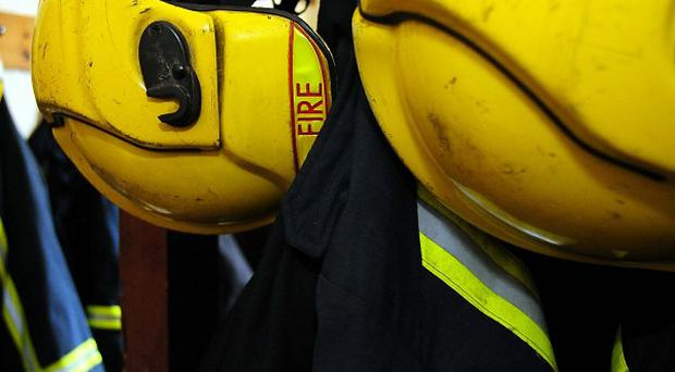 A fire at a hospital caused disruption by melting the water pipes, MLAs have been told