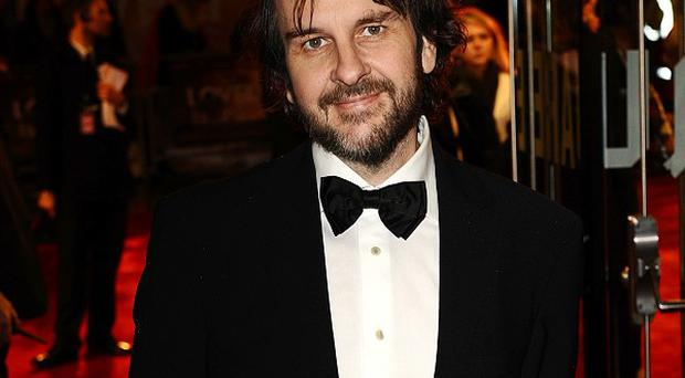 Peter Jackson ahead of the premiere of The Hobbit