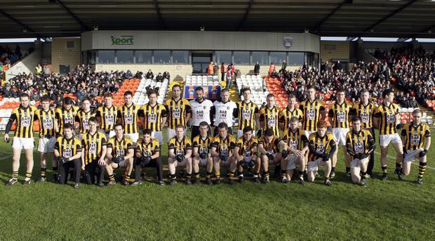 The Crossmaglen Rangers team which is chasing another Ulster senior club championship title on Sunday when they take on Kilcoo at the Athletic Grounds, Armagh