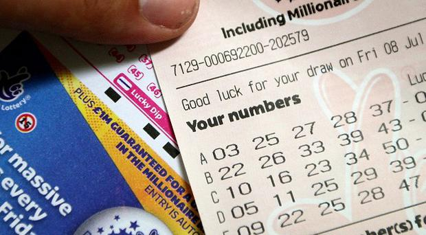 A Lottery winner is sitting on a 64 million pound pot of gold with a week to claim the prize