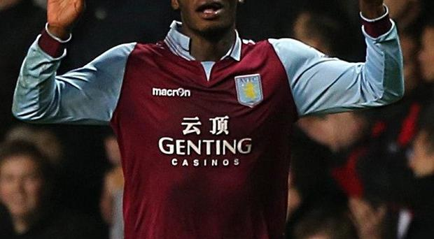 Paul Lambert waxed lyrical about Aston Villa striker Christian Benteke, pictured